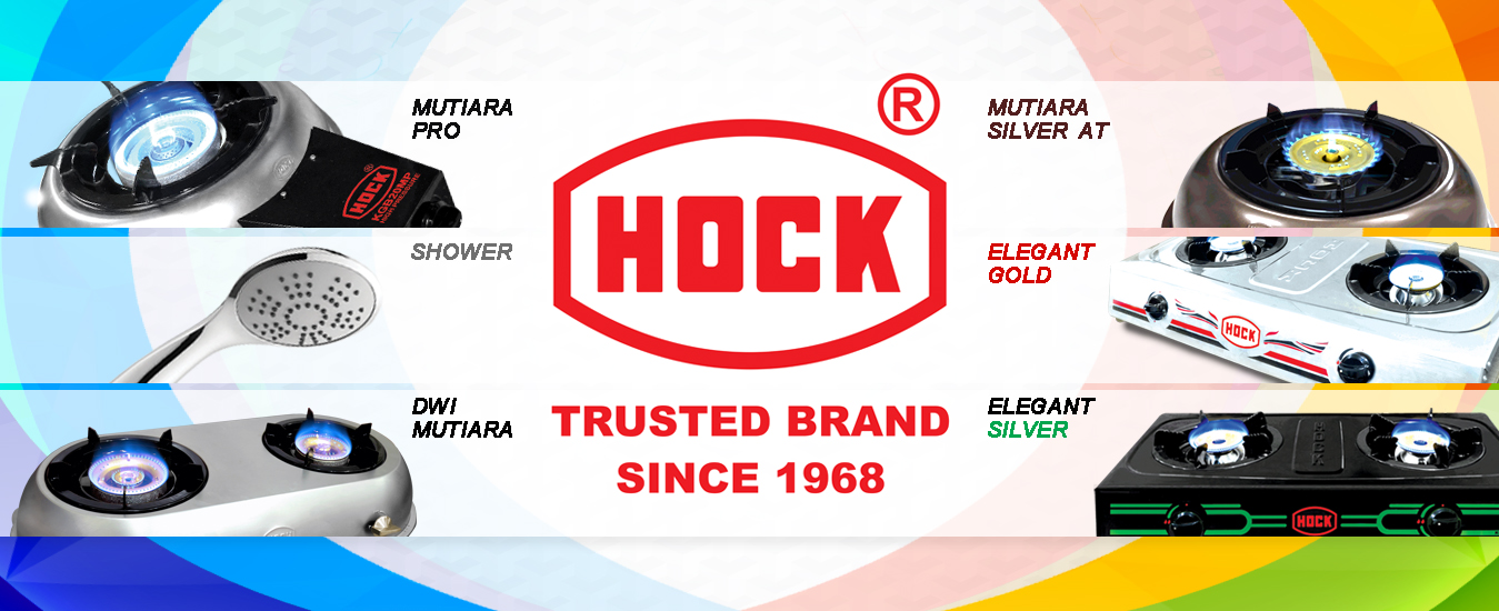 HOCK Gas Stove Banner